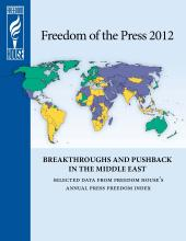 Freedom of the Press 2012: Iran Ranked 192
