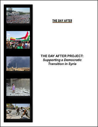 'The Day After' Project for a Democratic Transition in Syria