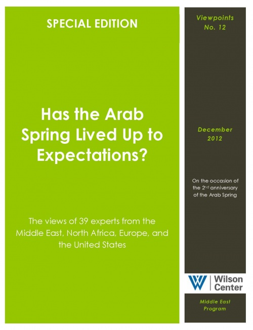 Arab Spring and Our Expectations