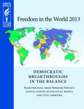 Freedom House Report: 'Freedom in the World 2013'