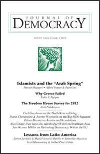 "Democratization Theory and the ""Arab Spring"""